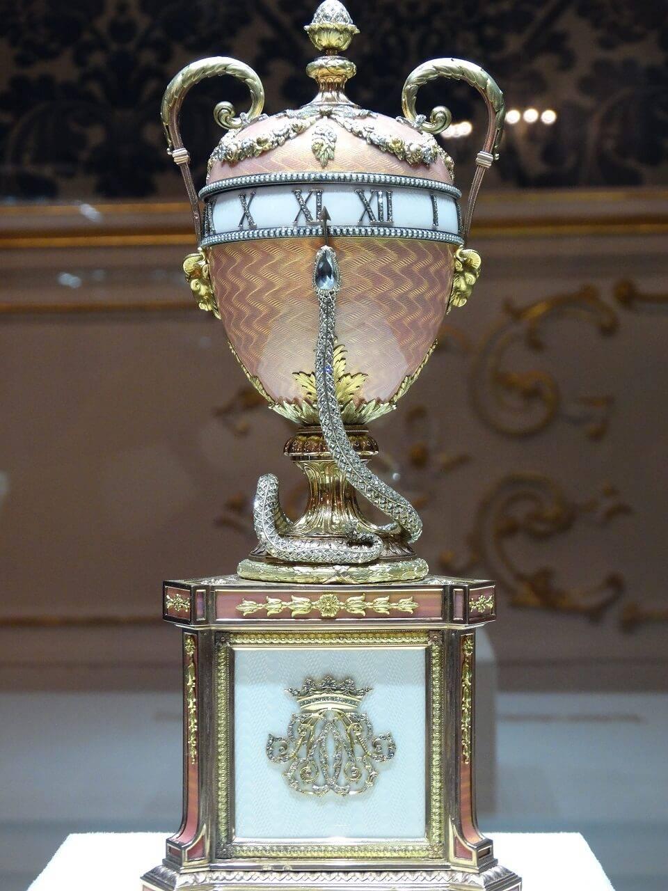 faberge egg in museum