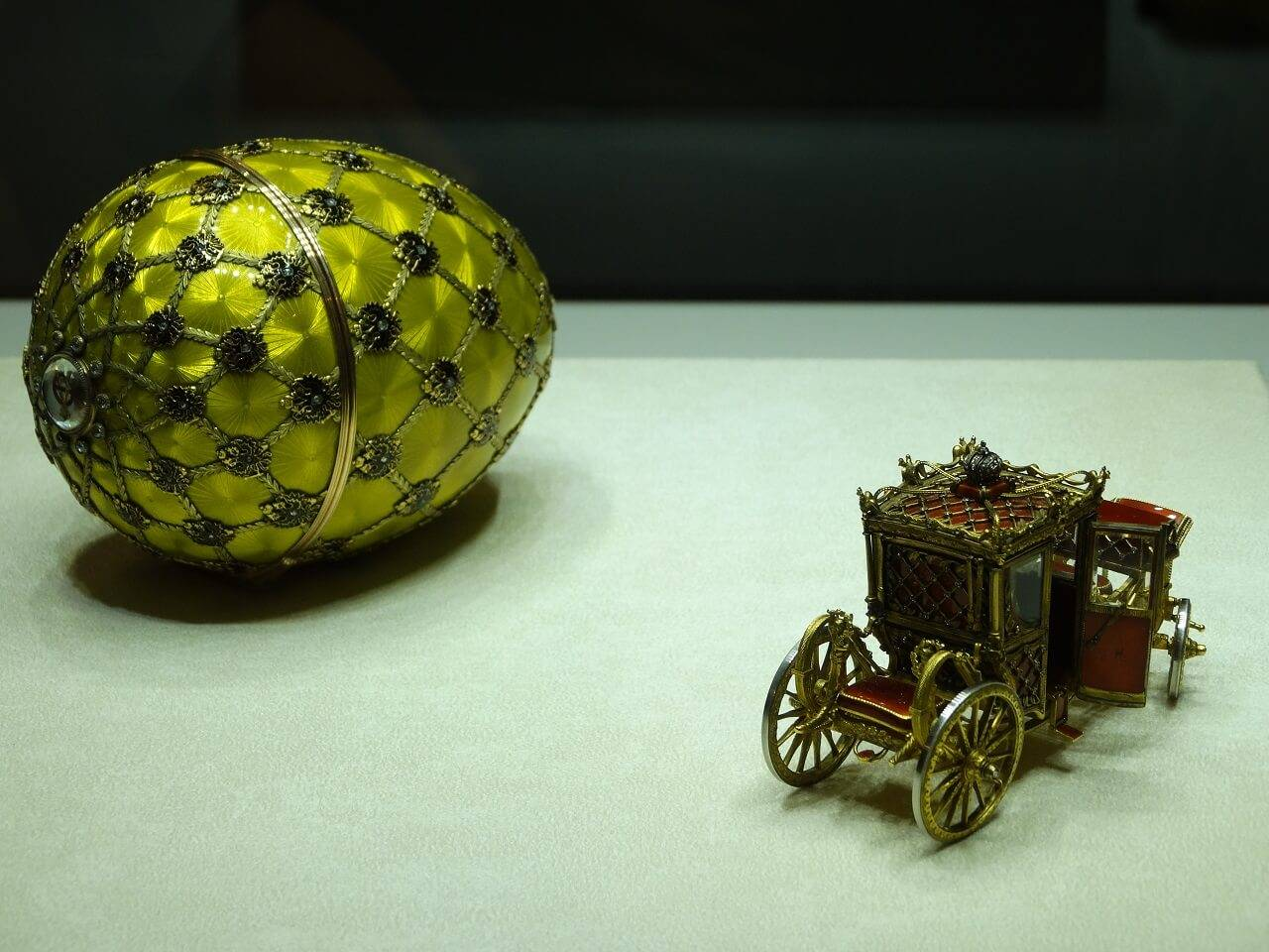 faberge egg with surprise
