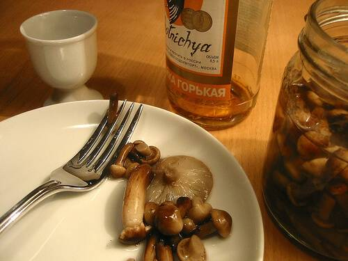 Russian Mushrooms | Russian Cuisine