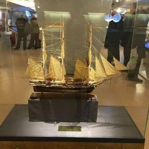 miniture model ship