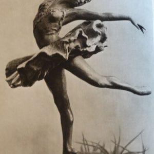 Female russian ballet dancer