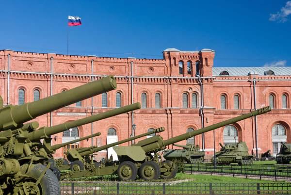 St. Petersberg Artillery museum