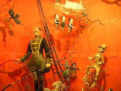 Circus dolls in the St Petersburg Doll Museum