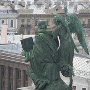 St. Isaac Cathedral angel