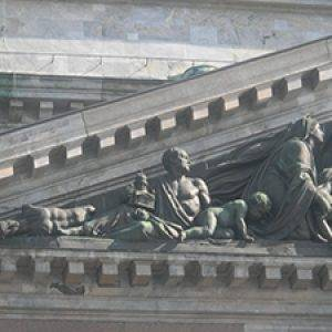 Statues of St. Isaac Cathedral