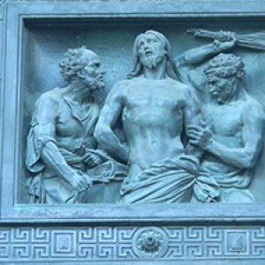 details of Statues of St. Isaac Cathedral