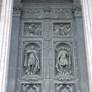 doors of St. Isaac Cathedral