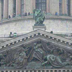top of St. Isaac Cathedral