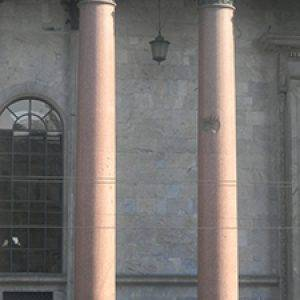 St. Isaac Cathedral's pillars
