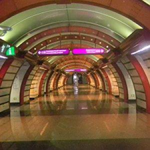 Obvodniy Canal station in St. Petersberg Metro