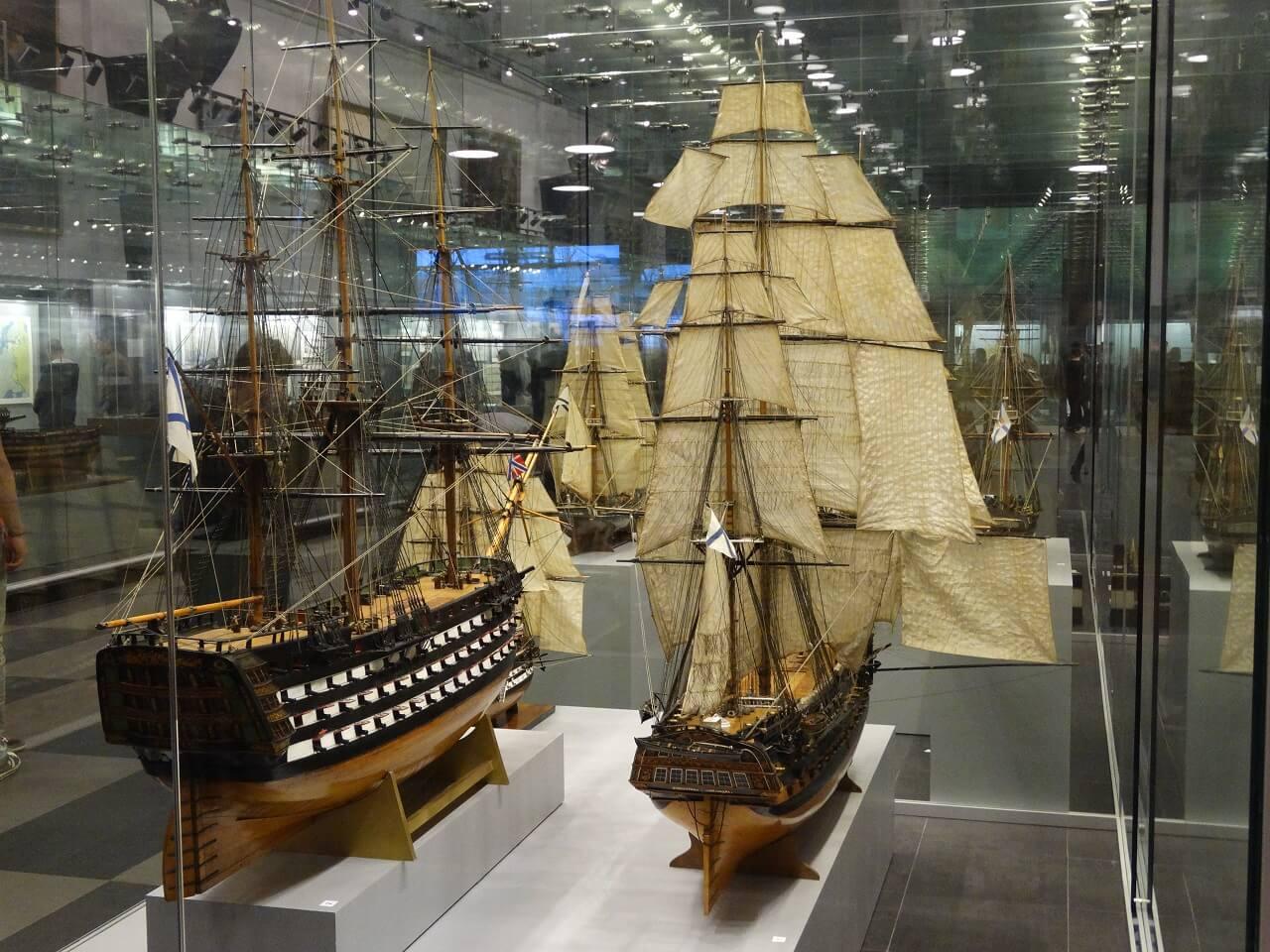 2 Miniture model ships