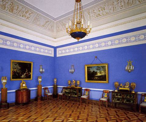 Catherine-Block building at Peterhof palace
