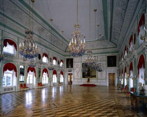 Big room at Grand Palace of Petergof