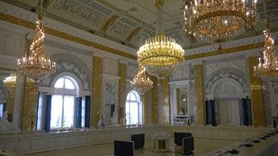 Interior of Konstantinovsky Palace