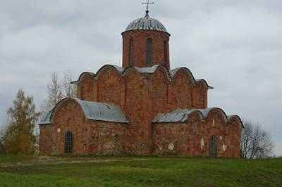 old brick cathedral