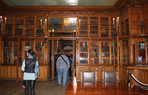 library in Yusupov Palace