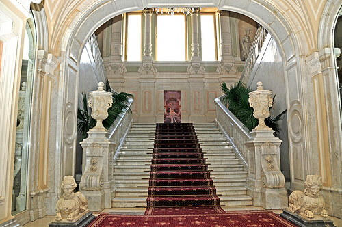 staircase in Yusupov Palace