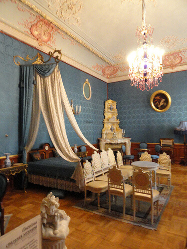 bedroom in Yusupov palace