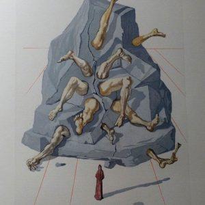 Salvador Dali's Hell Canto 21