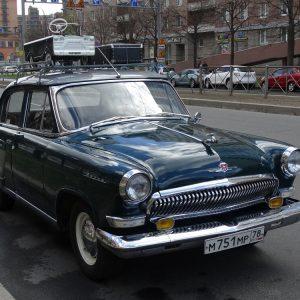 Vintage GAZ car