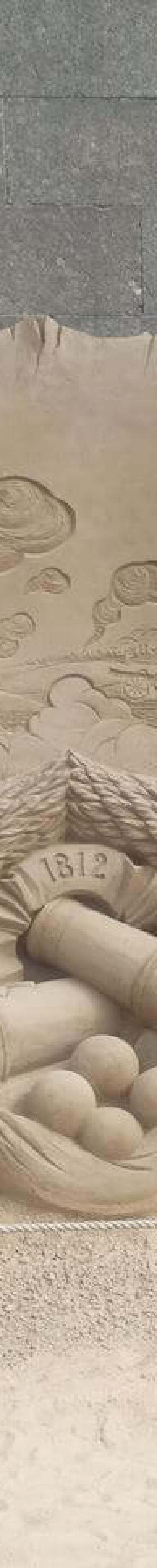 war of 1812 stone carving