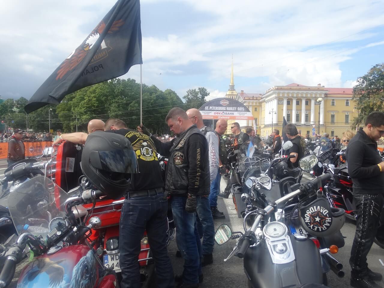 Harley days in Saint-Petersburg