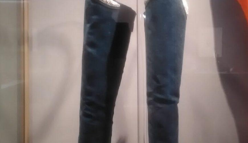Waist high boots